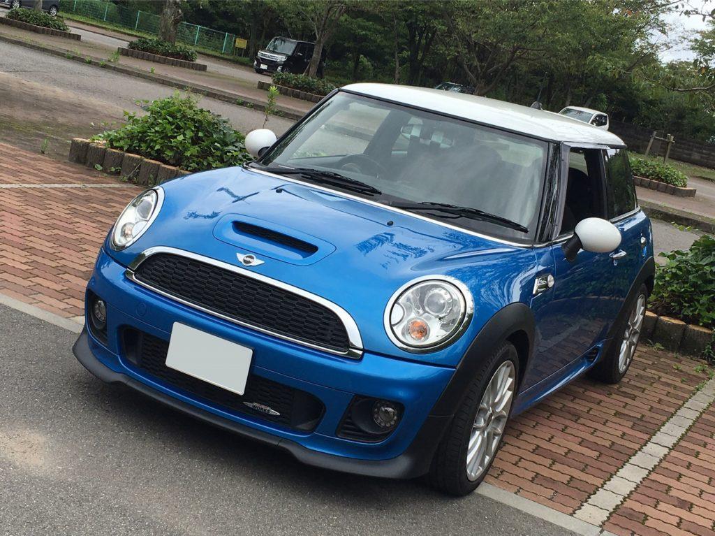 MINI R56 JCW blue