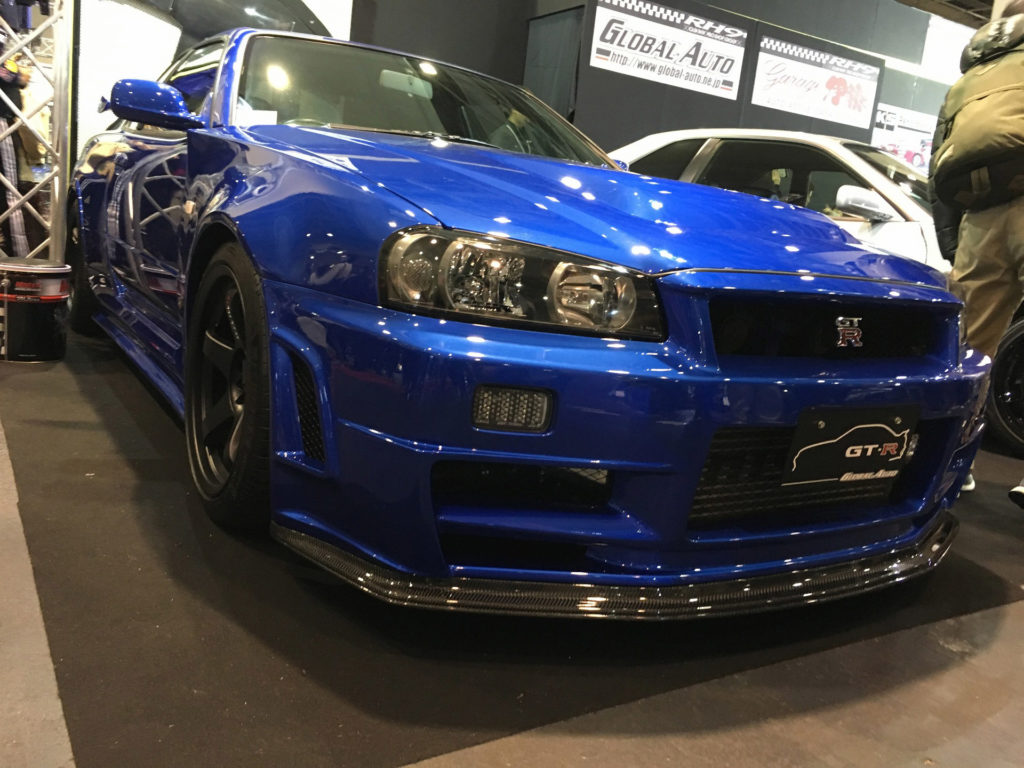 R34 GTR NUR フロント